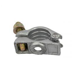 Halve draaikoppeling 48mm, Steigerkoppeling, Elektrolytisch verzinkt staal, GeZu Impex