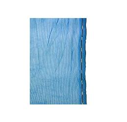 GeZu Impex ® Stergernet / Steigerdoek/ Stofbeschermingsnet 2,57 x 20 m, blauw