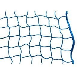 GeZu-Impex ® Zijbeschermingsnet 2,00 x 10,00 m, Steigernet beschermingsnet blauw