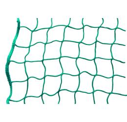 GeZu Impex ® Zijbeschermingsnet / Stergernet / Steigerdoek, 2,00 x 10,00 m, groen