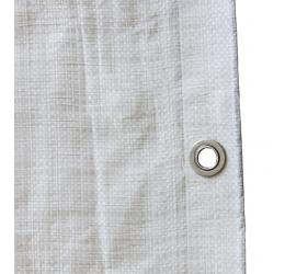 GeZu Impex ® Afdekzeil / Dekziel / Beschermend zeildoek, 8 x 10 m