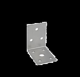 GeZu Impex ® Hoekverbinder / verbindingshoeken staal verzinkt - 50x50x35x2.5 mm Versterkingshoeken/ hoekijzers voor balkverbinding / houtverbinding