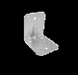 GeZu Impex® Hoekverbinder 105x105x90x3 mm gegalvaniseerd staal houten connector montagehoek stoel hoek