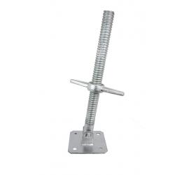 Steigerspindel zwenkbaar 500x38 mm galvanisch verzinkt staal