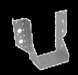 GeZu Impex® Balkdrager/Raveeldrager met buiten staanden flenzen, 100x140x2mm, Zinkplaat