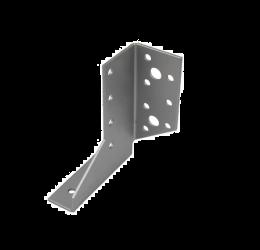GeZu Impex® Balkdrager/Raveeldrager, 23x95x2mm, rechts zijd, Zincplaat