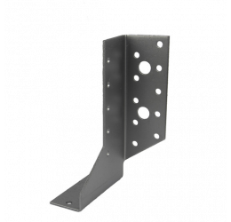GeZu Impex® Balkdrager/Raveeldrager, 28x130x2mm, rechts zijd, Zincplaat