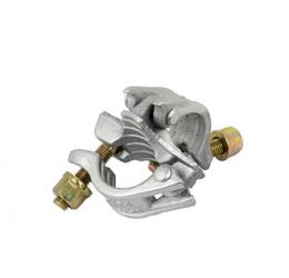 Normaal koppeling 48x48 mm, steigerkoppeling, Elektrolytisch verzinkt staal, GeZu-Impex