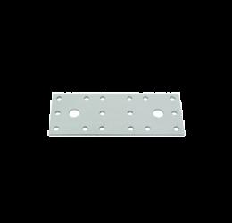 GeZu Impex ® Platte Verbinders 140x55x2 mm / Binnen hout verbinder / PlatteIjzerplaat / Gegalvaniseerde plaat.