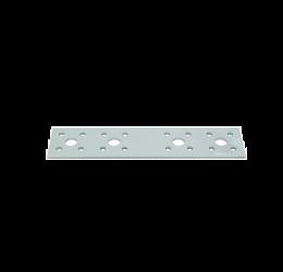 GeZu Impex ® Platte Verbinders 180x40x2 mm / Binnen hout verbinder / PlatteIjzerplaat / Gegalvaniseerde plaat.