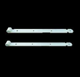 GeZu-Impex ® 2x Duimheng 500mm voor pen Ø16mm, verzinkt