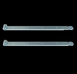 GeZu-Impex ® 2x Duimheng 600mm voor pen Ø16mm, verzinkt