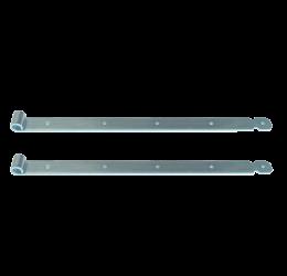 GeZu-Impex ® 2x Duimheng 900mm voor pen Ø16mm, verzinkt