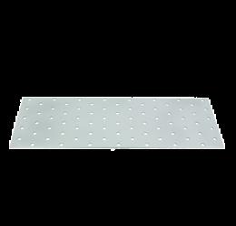GeZu Impex ® Platte verbinders 100x300x2 mm /Geperforreerde plaat Verzinkt / Hout Verbinders Binnen / stalen verbindingsstukken /geperforeerde plaat plat ijzer