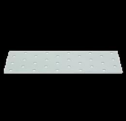 GeZu Impex ® Platte verbinders 60x200x2 mm /Geperforreerde plaat Verzinkt / Hout Verbinders Binnen / stalen verbindingsstukken /geperforeerde plaat plat ijzer