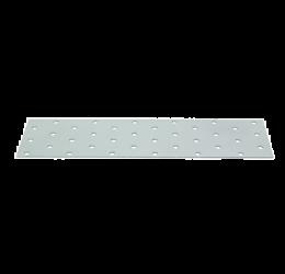 GeZu Impex ® Platte verbinders 60x240x2 mm /Geperforreerde plaat Verzinkt / Hout Verbinders Binnen / stalen verbindingsstukken /geperforeerde plaat plat ijzer