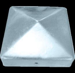 GeZu-Impex ® Paalkappen, vuurverzinkt,  101x101 mm, Paalornament voor Houten Palen