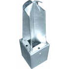 GeZu-Impex ® Paalhouder 91x91x350 mm voor tuinschermen in beton